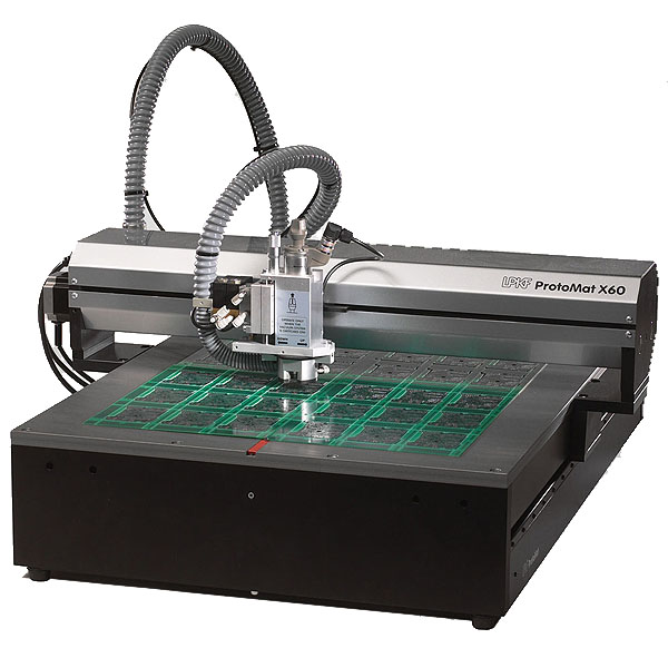 Lpkf Protomat X60 Large Table Pcb Milling Machine